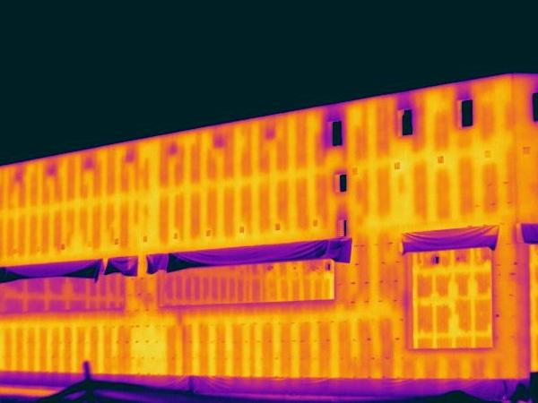 ドローン空撮 赤外線調査