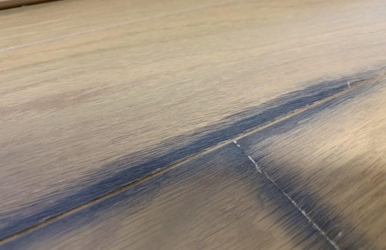 床材補修の調査診断